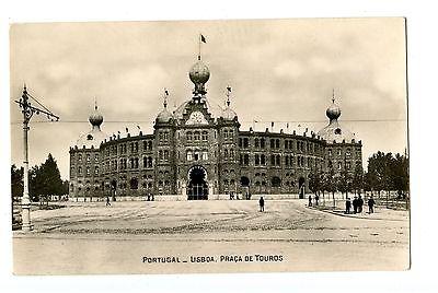 Old post card postcard Portugal Lisboa Praca de touros