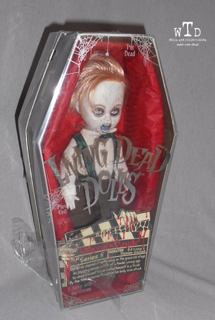 LDD living dead doll * SERIES 5 * VINCENT VAUDE * SEALED