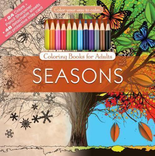 Color with Music: Seasons : Color Your Way to Calm