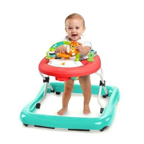Baby Walker Activity Toddler Safety Walk Toy Adjustable Seat Play Learning New