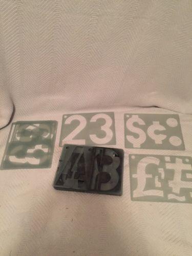 6 Inch Plastic Stencils Paint Stencils