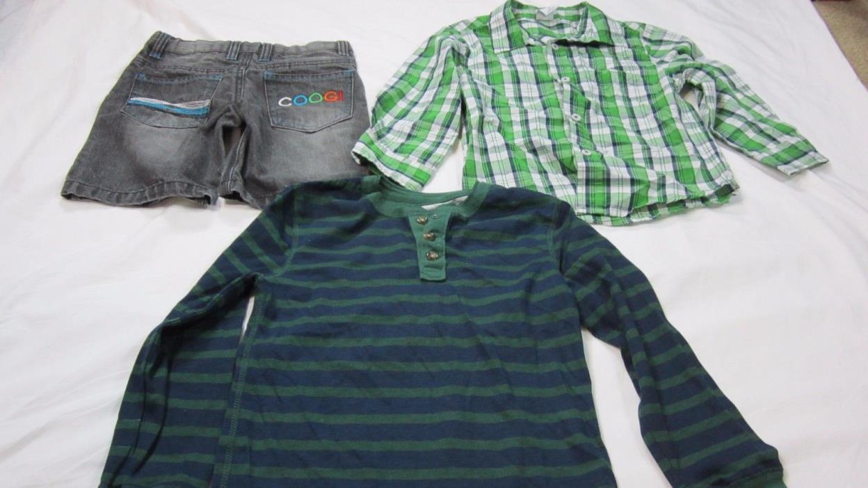 Lot of 3 Boy Clothes Size 5T,Falls creek, Coogi