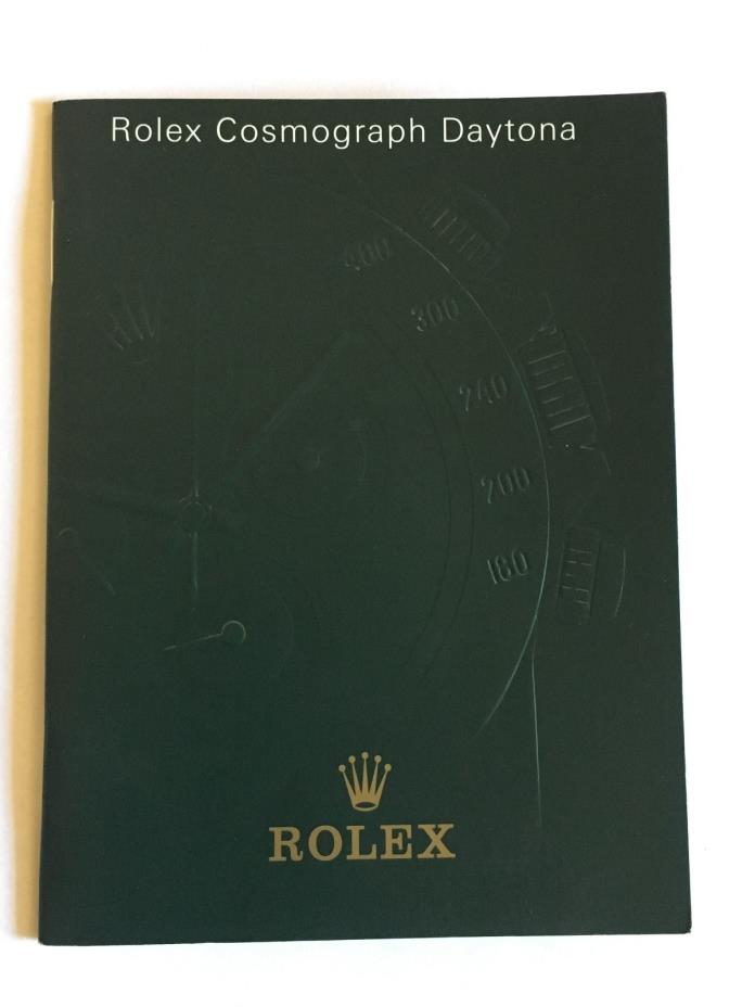 Original ROLEX Day-Date Manual Booklet German Dated 2000 551.03