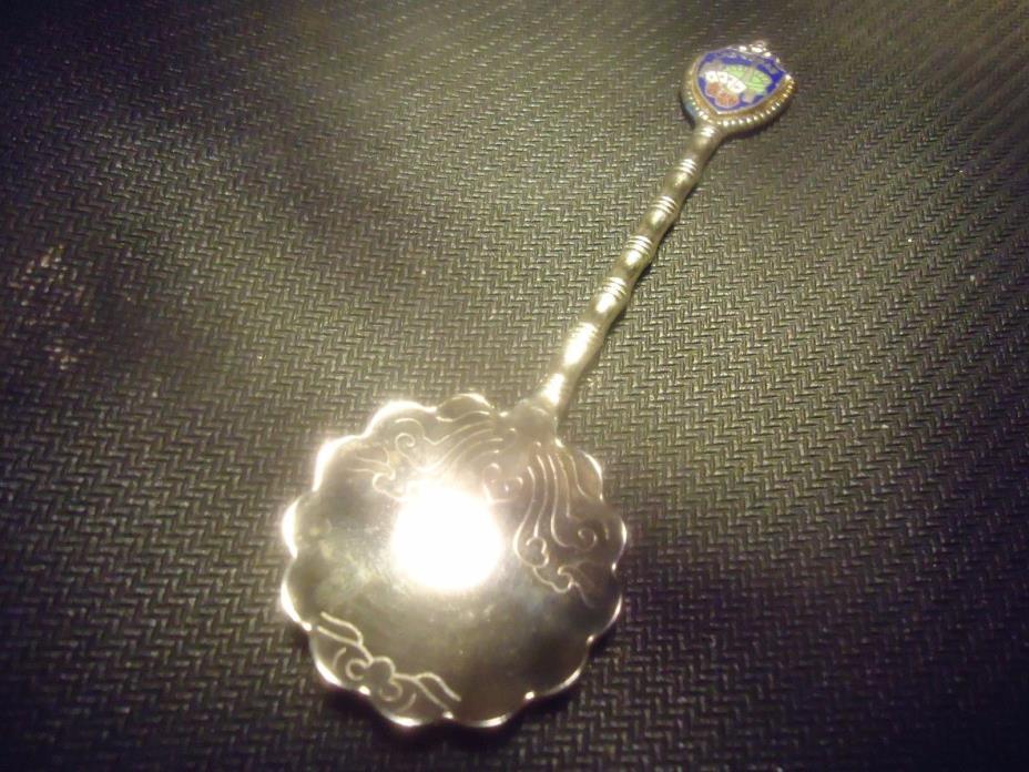 Las Vegas chrome plated commemorative spoon