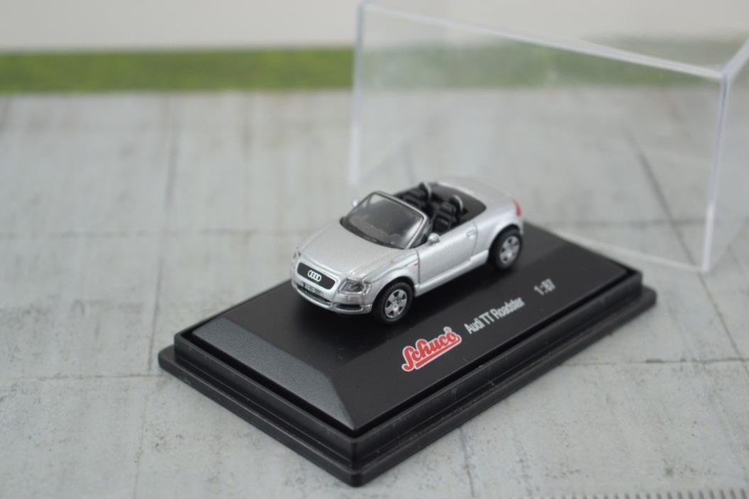 Schuco Audi TT Roadster Silver 1:87 Scale HO