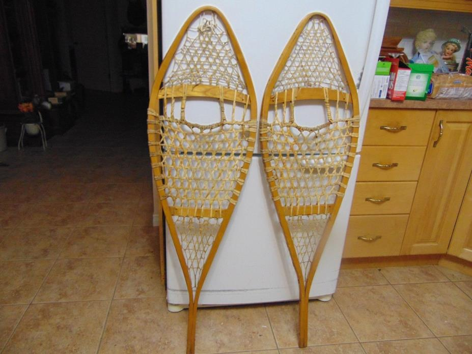 vintage,  snowshoes/    as is  nice   14 x 48  # 2216
