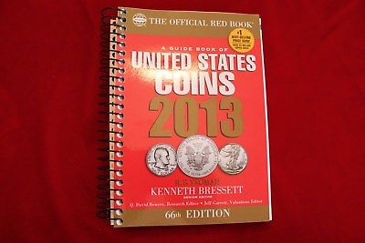 2013 RED BOOK GUIDE BOOK OF UNITED STATES COINS,  SPIRAL EDITION, BRAND NEW BOOK
