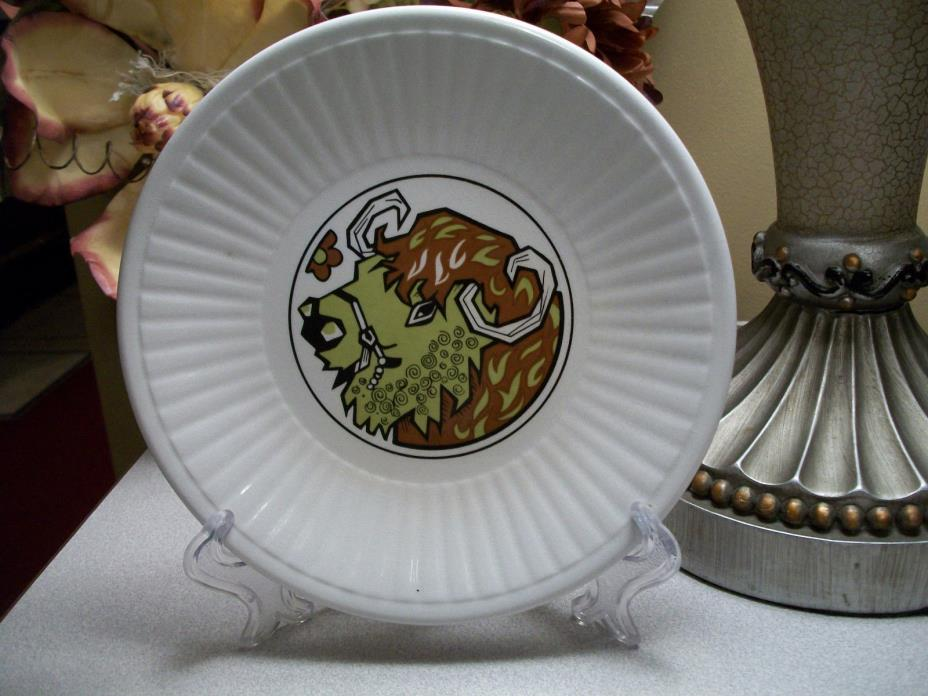 English Ironstone Pottery Ltd Beefeater Series 1970's Rare Saucer Plate