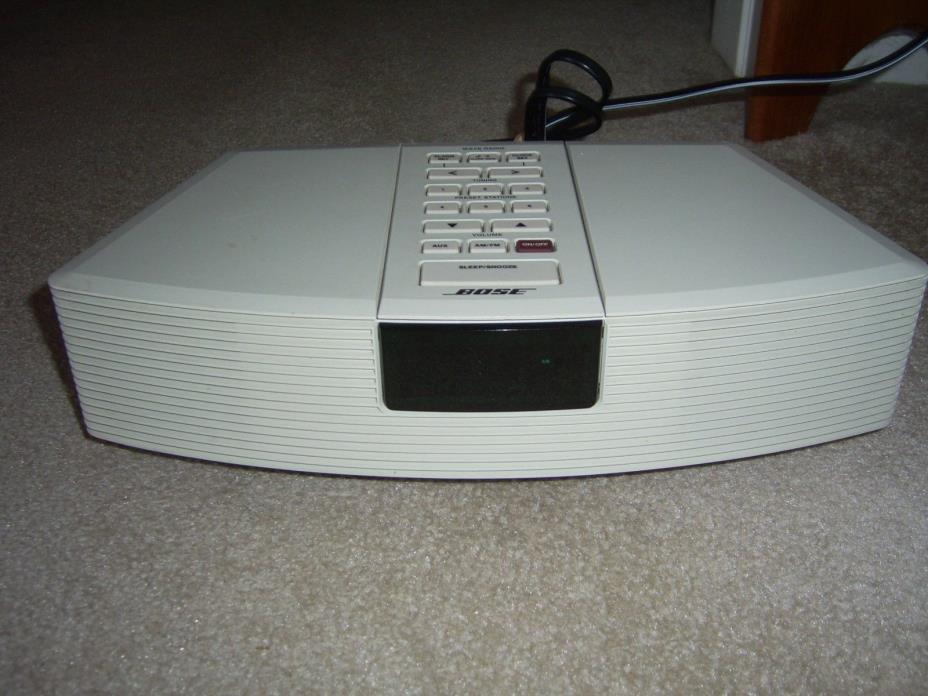 Bose Wave Radio AWR1-1W AM/FM Alarm Clock Radio, Used, FOR PARTS or REPAIR