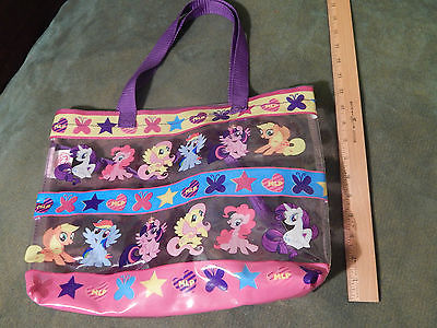 My Little Pony *Tote Bag w/ Inner Accessory Zip-Up Bag* [Colorful_Clear] Hasbro