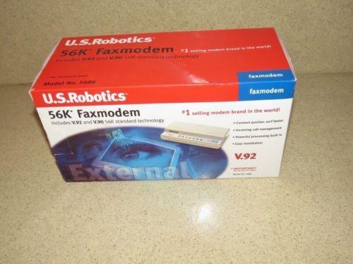 ^^ US ROBOTICS 5686 56K FAXMODEM V.92 NEW OPENED BOX