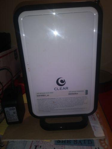 CLEAR Wireless Modem with Wifi Internet Router Model WIFIRSU_cc
