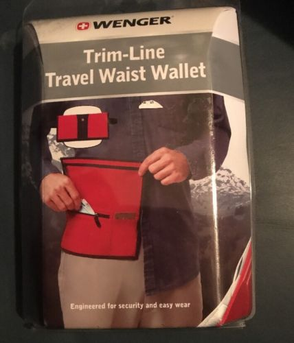 trim-line Travel waist wallet wenger