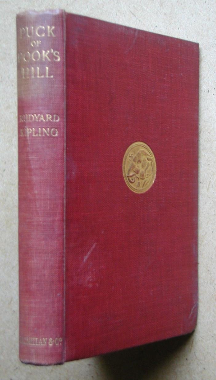 Puck of Pook's Hill. By Rudyard Kipling. 1930 HB. Illustrated