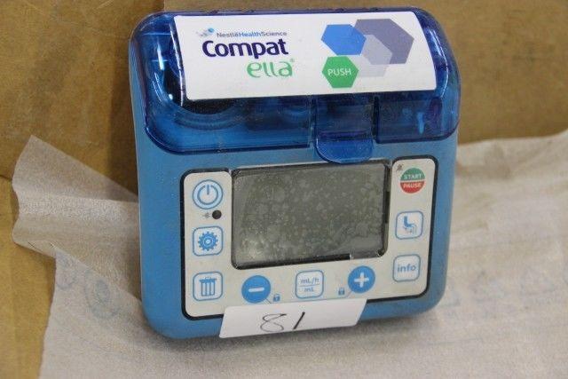 COMPAT ELLA ENTERNAL FEEDING PUMP 'NOT FOR HUMAN USE