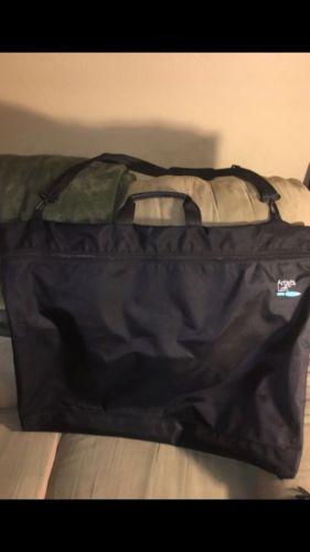Art Portfolio Case Artist Carrying Case Waterproof Artwork Protector Bag Black
