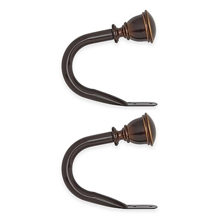 Umbra Bedford Holdback in Darjeeling Bronze (Set of 2)