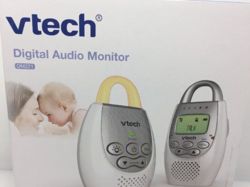 VTech DM221 Audio Baby Monitor with up to 1,000 ft of Range, Vibrating Sound