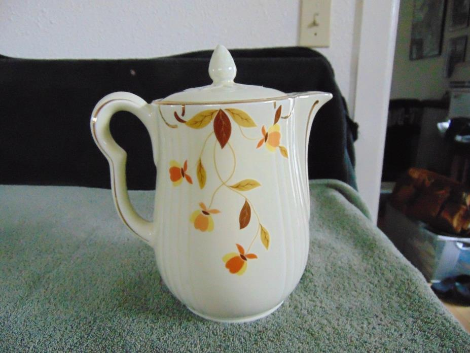 HALL'S SUPERIOR KITCHENWARE - AUTUMN LEAF - COFFEE POT