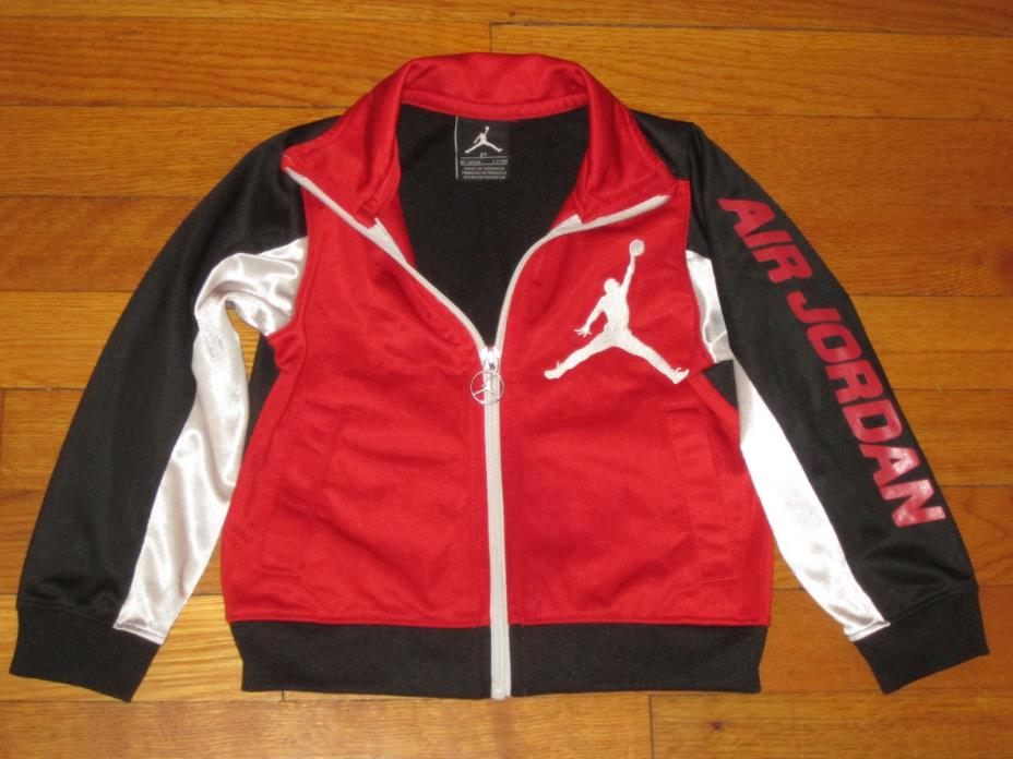 NIKE AIR JORDAN FULL ZIP TRACK JACKET BOYS TODDLER 2T EXCELLENT CONDITION