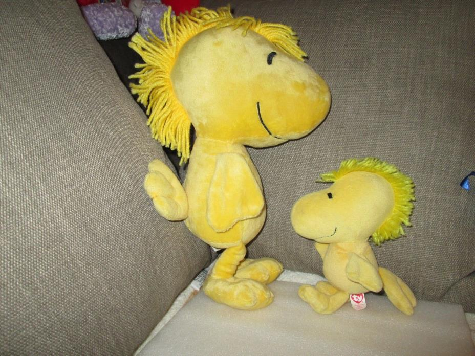 2 WOODSTOCK STUFFED TOY - 7 & 12