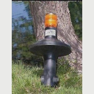 Solar Powered Geese/Goose Deterrent Repellent-environmentally safe,water based