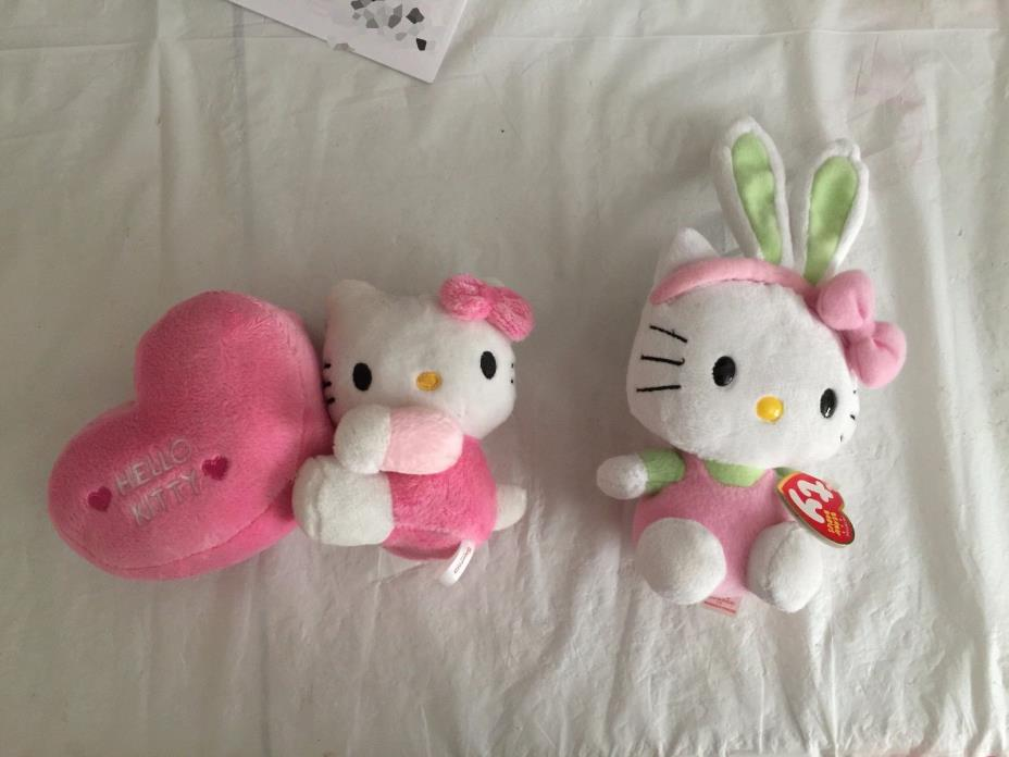STUFFED ANIMAL  HELLO KITTY 6