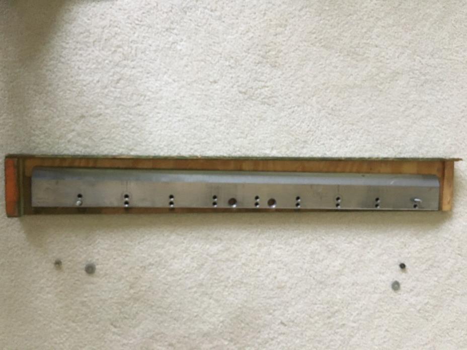 80, 31 1/2,Baum Paper Cutter blade Polar Mohr HSS1
