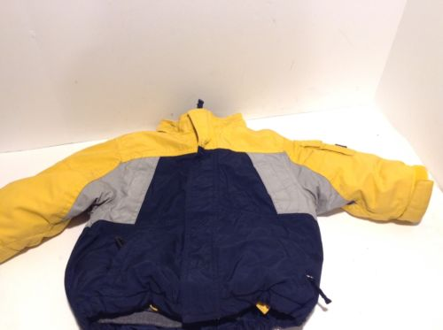 The Childrens Place Yellow Gray Winter Jacket Inner Liner Fleece 18 Months Coat