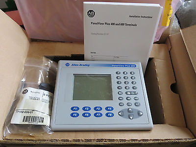 Allen Bradley PanelView Plus 400 2711P-K4M20A X Mono Keypad, New 2007 Tested