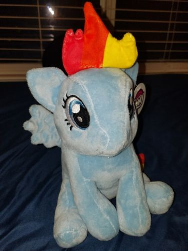 MY LITTLE PONY RAINBOW DASH PLUSH COIN BANK NEW With Tags