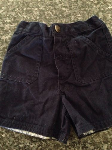 Baby Boys Toddler Shorts size 18 months Navy Blue Jeans Summer Everyday