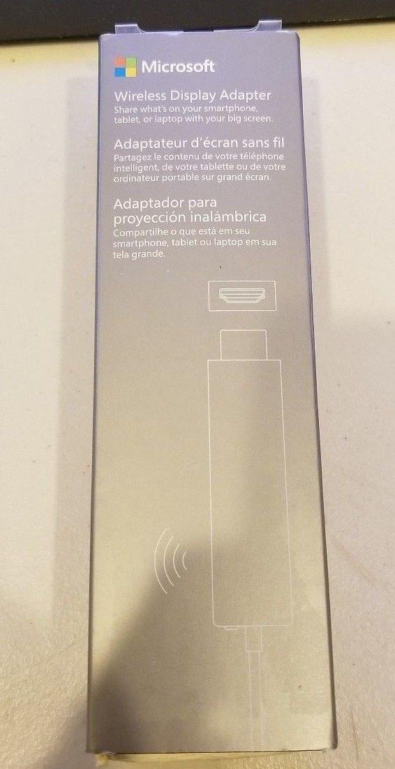 GENUINE Microsoft Wireless Display Adapter 1628 Black Excellent Condition!