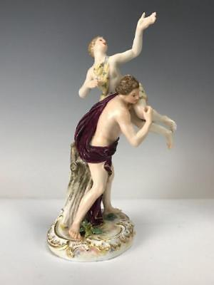 19th C. Meisses Porcelain Figural Group.