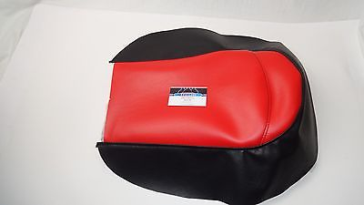 Polaris Youth 120 Snowmobile Seat Cover Red/Blk . Fits most models 1999 to 2015