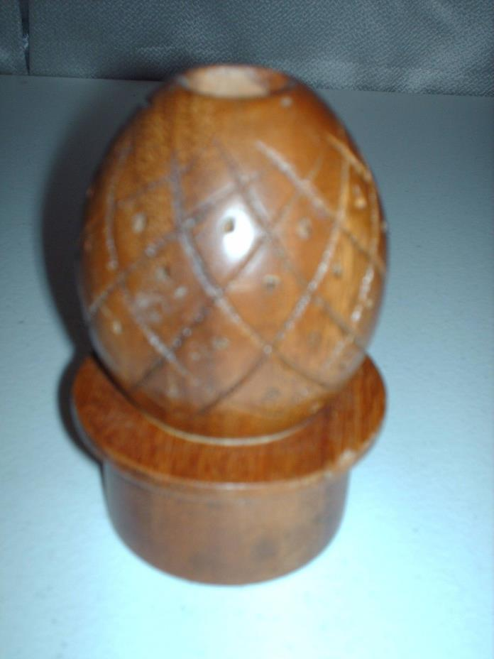 Wooden Pineapple Toothpick Holder -3