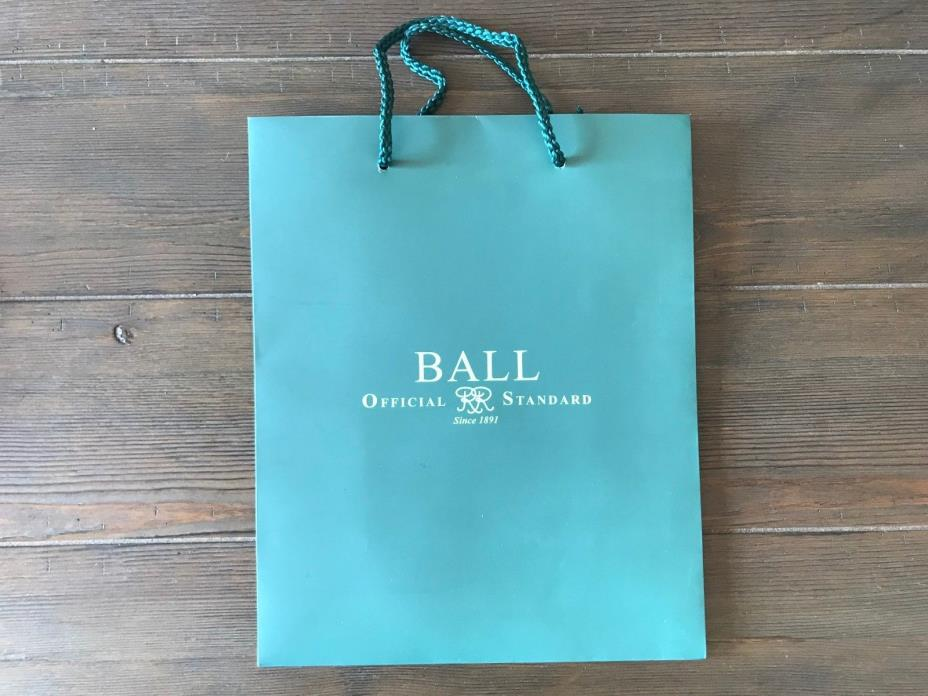 BRAND NEW BALL WATCH GIFT BAG