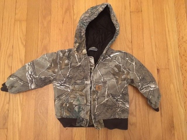 Carhartt Realtree Camo Toddler Jacket 24 months
