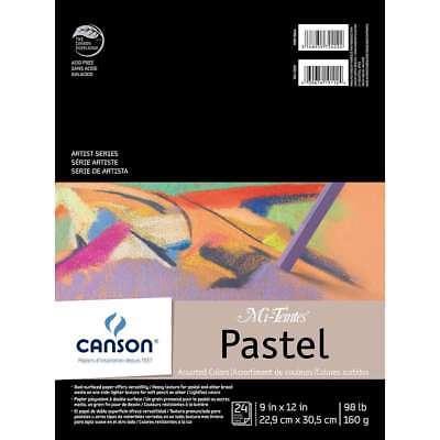 Canson Mi-Teintes Pastels Paper Pad 9