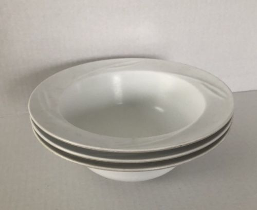 Vintage Rubbermaid Melmac/Melmine bowls White 3896 cereal bowl Set Of 3