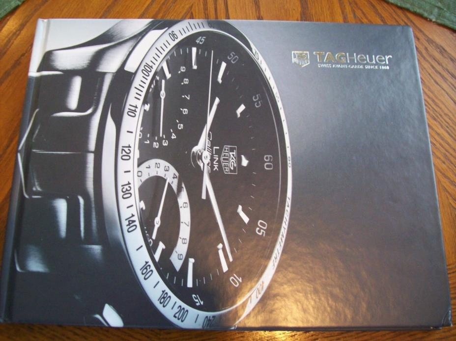 2007 TAG HEUER WATCHES Collection Catalog WATCH Dealer HARDCOVER Celebs Inside