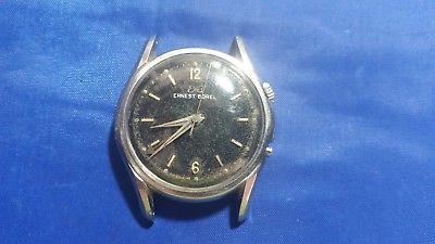 Vintage Ernest Borel Alarm 17 jewels  Men's Watch for parts