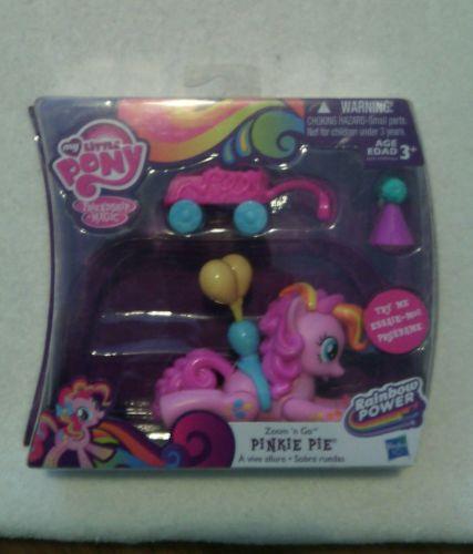 NIB *My Little Pony*Zoom 'n Go PINKIE PIE - Wagon Cart Party Hat Balloons