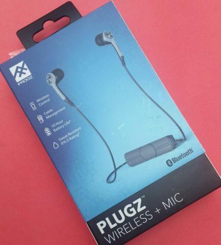 iFrogz Audio - Plugz Wireless Bluetooth Earbuds - Blue