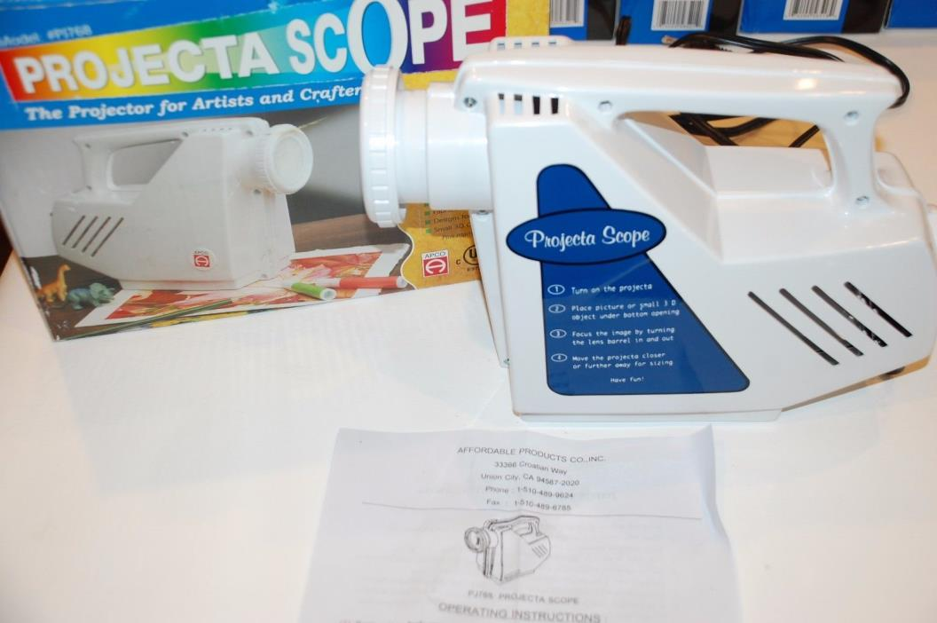 Projecta Scope Projectascope projector arts crafts drawing hobby wall magnify