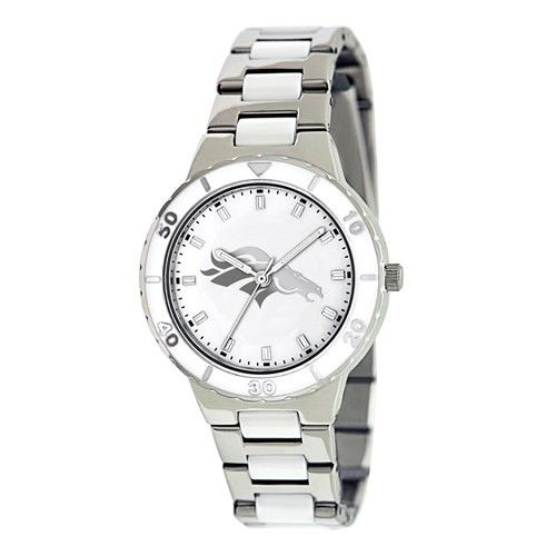 Ladies NFL Denver Broncos Mother Of Pearl Watch  Style# XWL752  $63.90