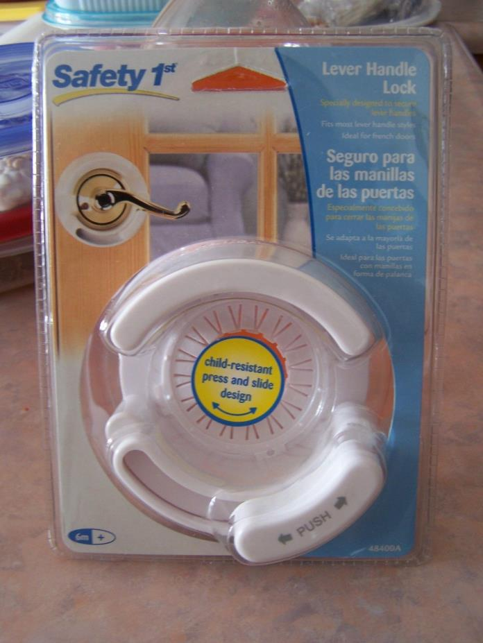 Safety 1st French Door Lever Handle Baby Proof Child Lock  48400A