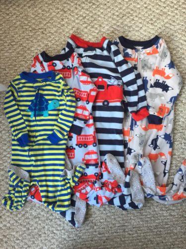 Carters Baby Boy Sleeper Set Size 18M