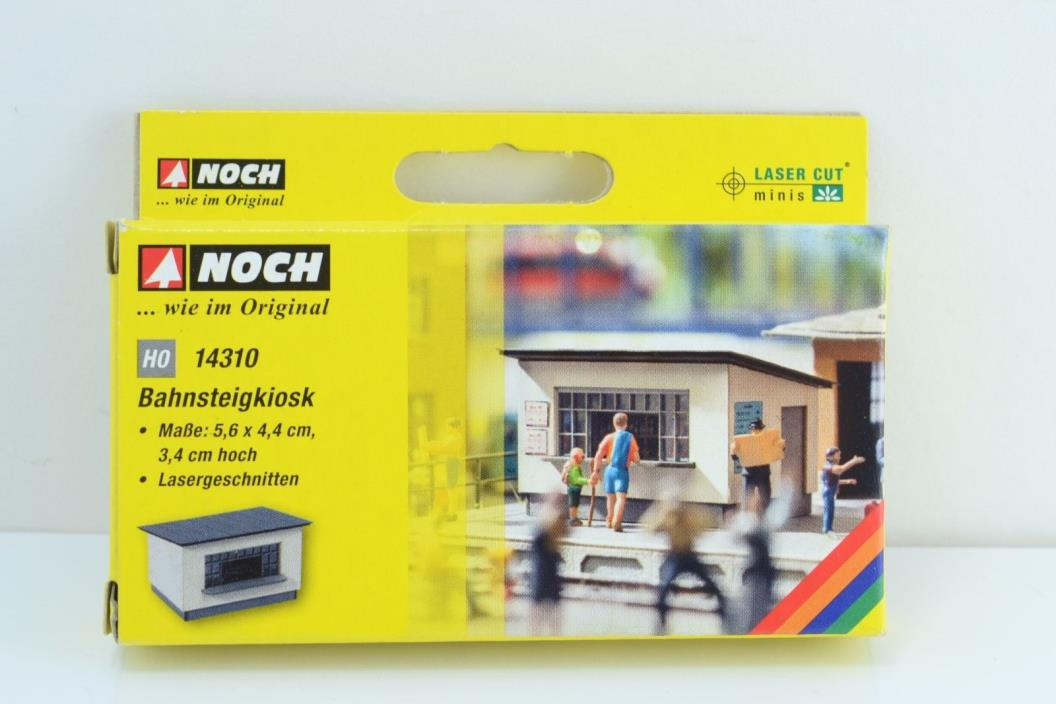 NOCH 14310 Station Kiosk Laser Cut HO Scale