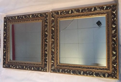 Vintage Gold Framed Mirrors Square Wall Decor ??
